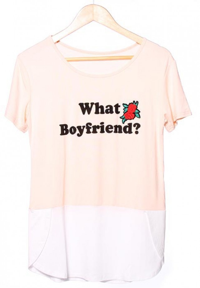 Camiseta What Boyfriend?