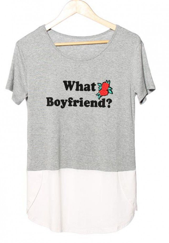 Camiseta What Boyfriend?