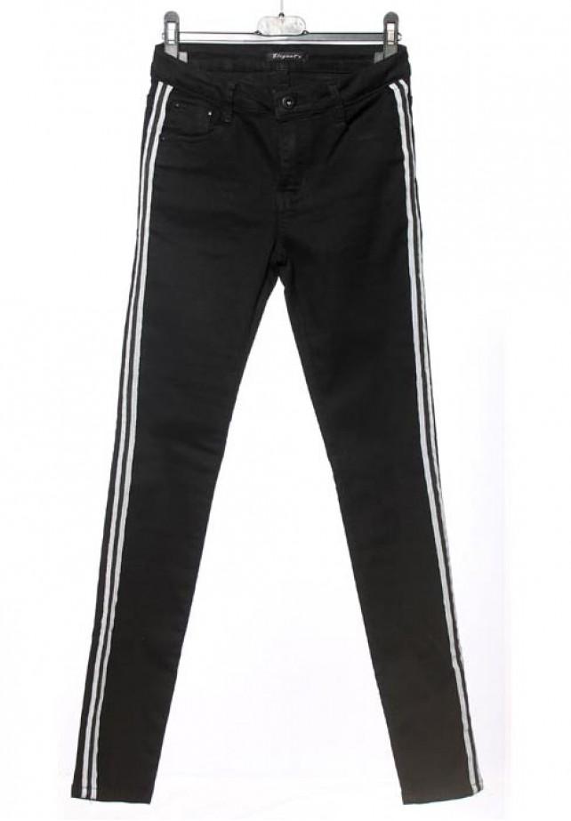 Pantalón negro bandas laterales